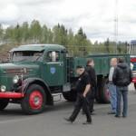 Ny paus vid Polisplatsen utanför  Borås Pelle i Horns Scania Regent kanske diskuteras