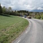 En vacker maj dag med gammla veteraner på väg till Göteborg